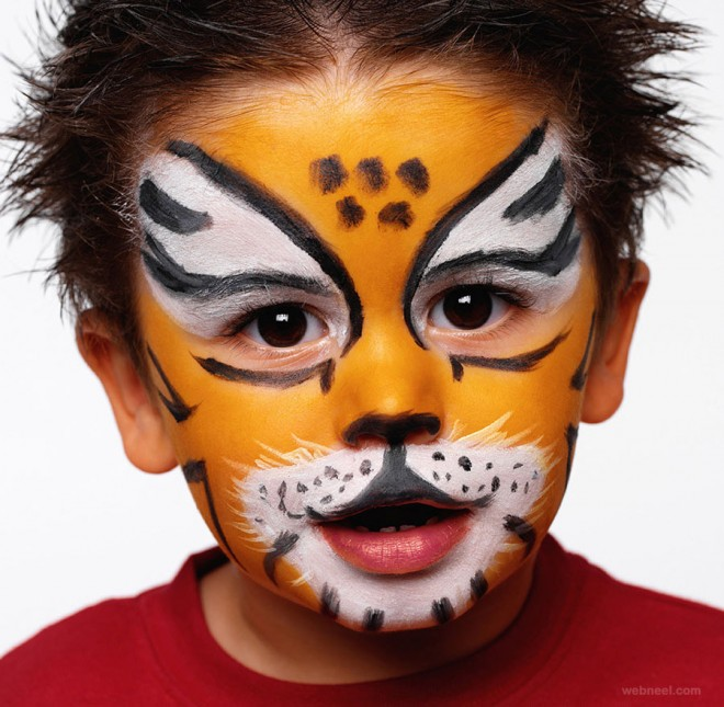 Kid Birthday Party Face Painting